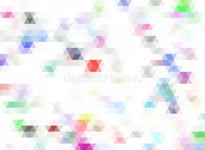 красочная абстрактная предпосылка для настольного дизайна обоев или вебсайта, шаблона с космосом экземпляра для текста : бесплатная иллюстрация
