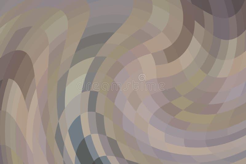 красочная абстрактная предпосылка для настольного дизайна обоев или вебсайта, шаблона с космосом экземпляра для текста : иллюстрация штока