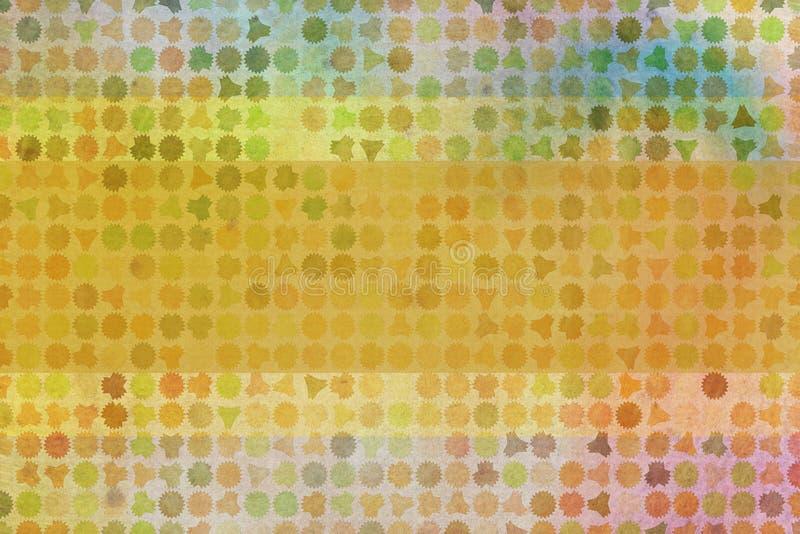Красочная абстрактная предпосылка картины для имени, титра или названия Форма, инструменты, каталог, цифровое & страница иллюстрация вектора
