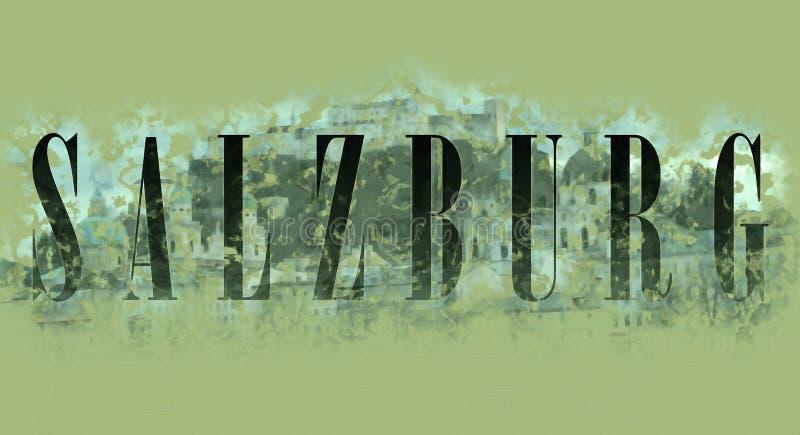 Красочная абстрактная предпосылка, цвета радуги, вертикальные линии света на темной предпосылке Зальцбург иллюстрация штока