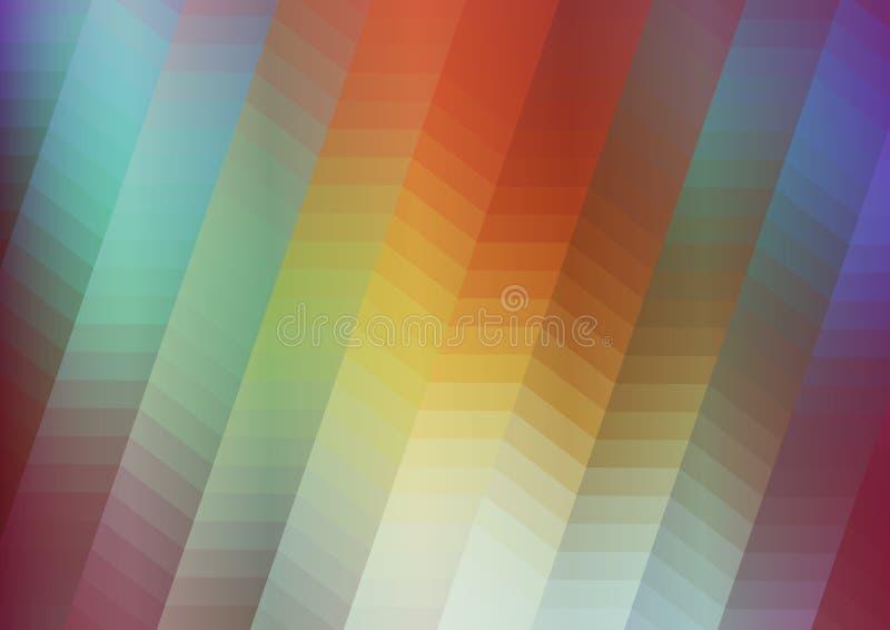 Красочная абстрактная предпосылка бесплатная иллюстрация