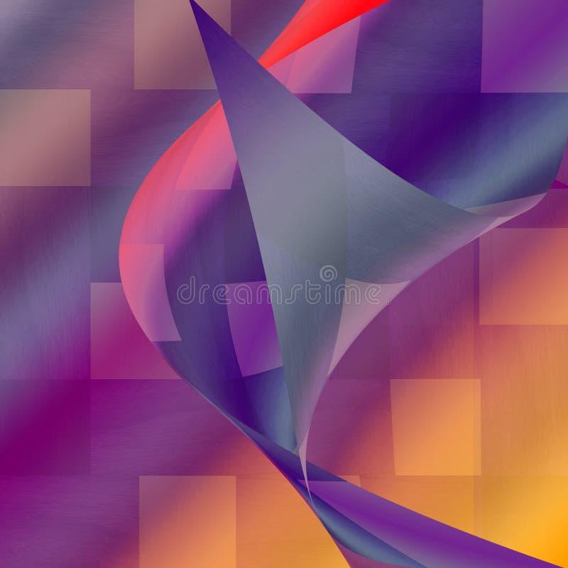 Красочная абстрактная фантазия бесплатная иллюстрация