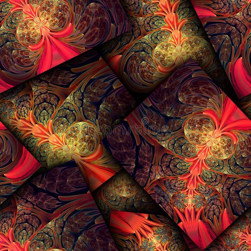Download Красочная безшовная текстурированная предпосылка Иллюстрация штока - иллюстрации насчитывающей плитки, выделено: 40591066