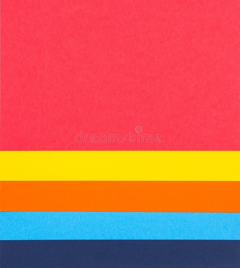 Красочная бумажная предпосылка стоковые изображения rf