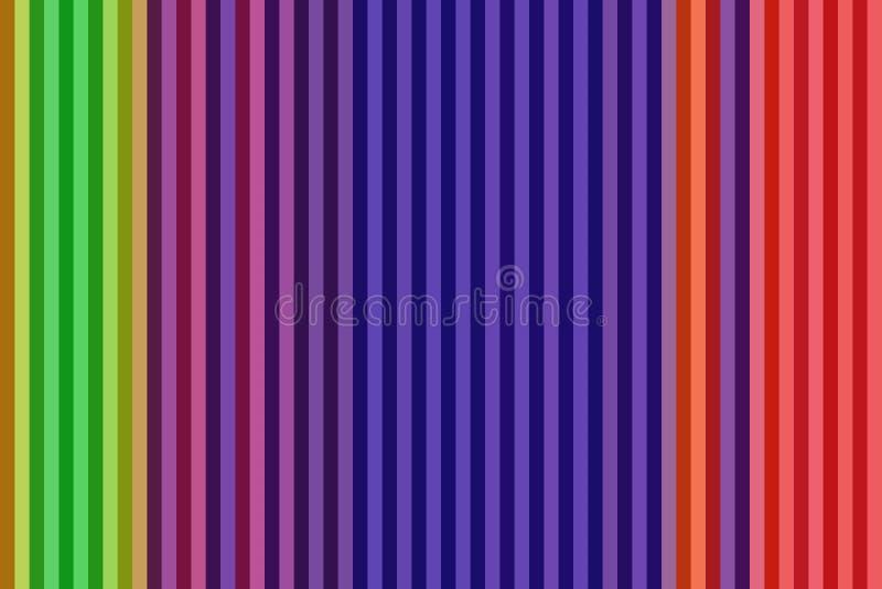 Красочная вертикальная линия предпосылка или безшовные striped обои, бумага текстуры бесплатная иллюстрация