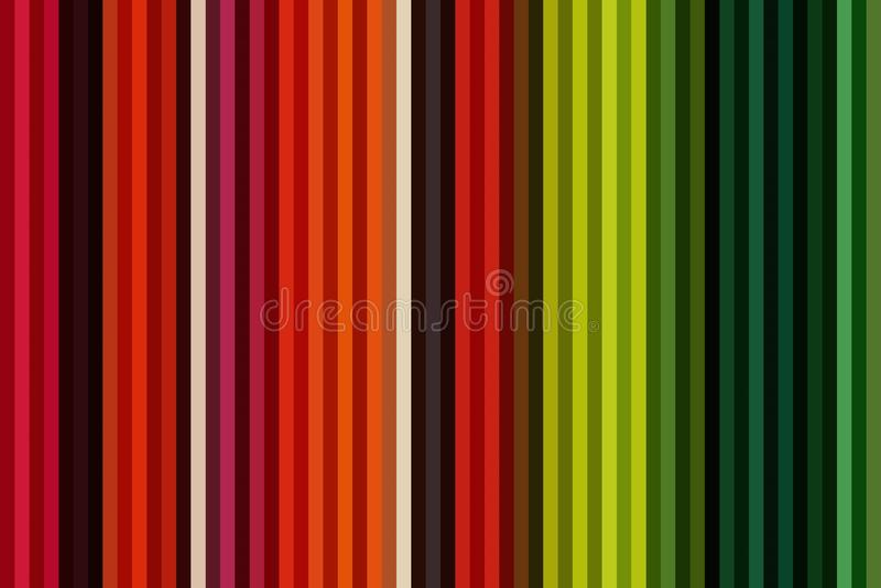 Красочная вертикальная линия предпосылка или безшовные striped обои, бумажная радуга бесплатная иллюстрация