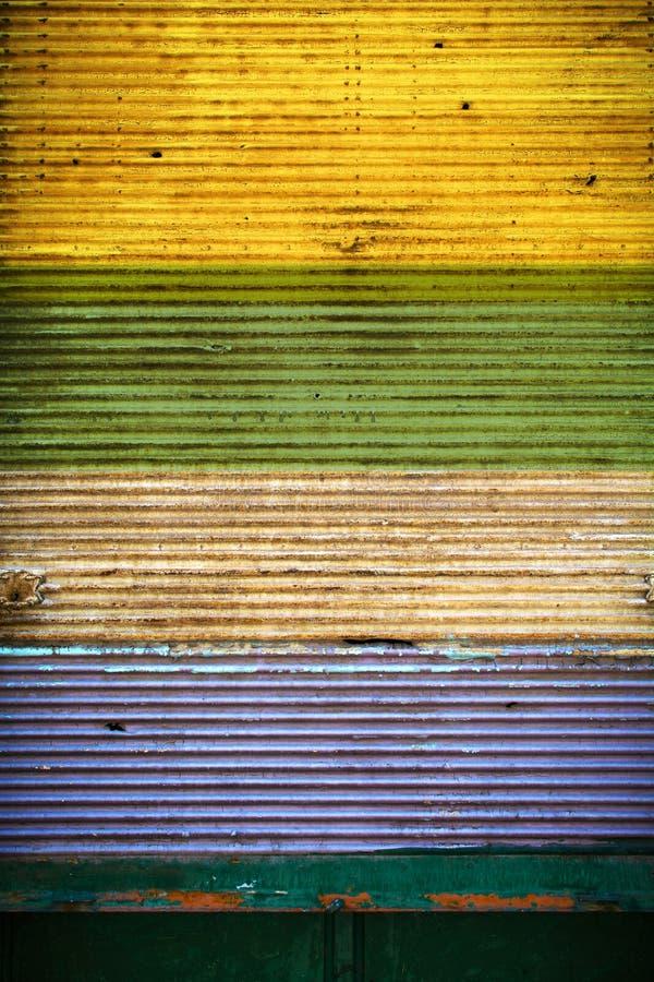 Красочная закрытая штарка стоковое изображение rf