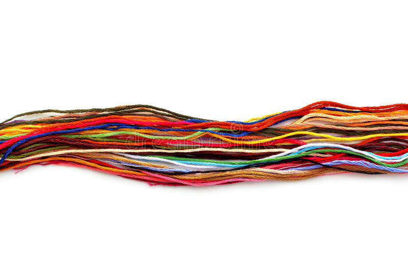 Красочная зубочистка потока стоковые фотографии rf