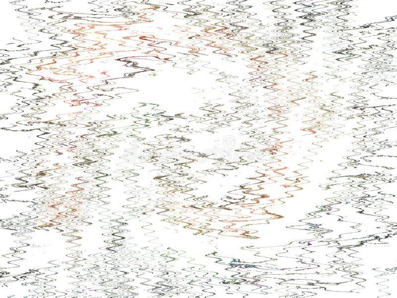 Красочная иллюстрация в разнообразном стиле с специальным эффектом Абстрактные графические предпосылка и текстура стоковое изображение rf