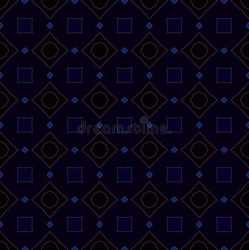 Красочная картина калейдоскопа, абстрактный дизайн иллюстрация штока