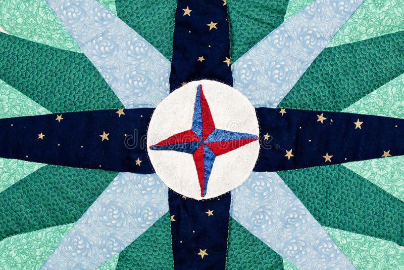 Красочная картина лоскутного одеяла стоковая фотография rf