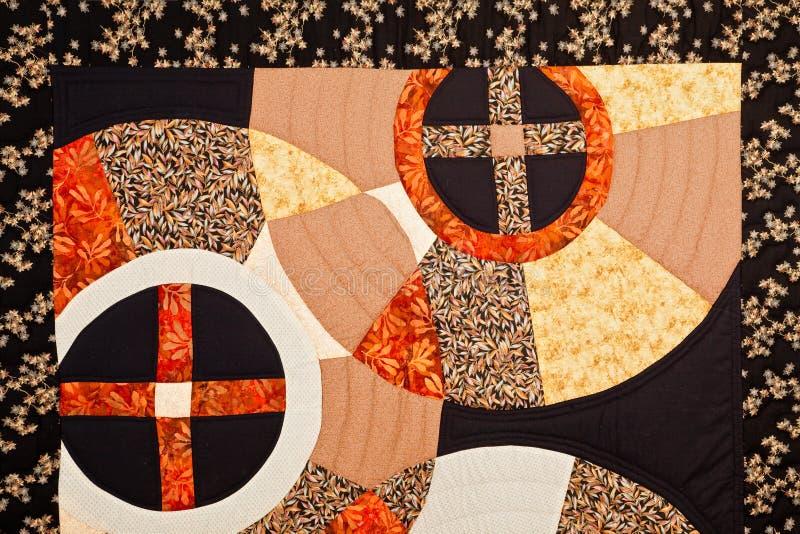 Красочная картина лоскутного одеяла стоковое изображение