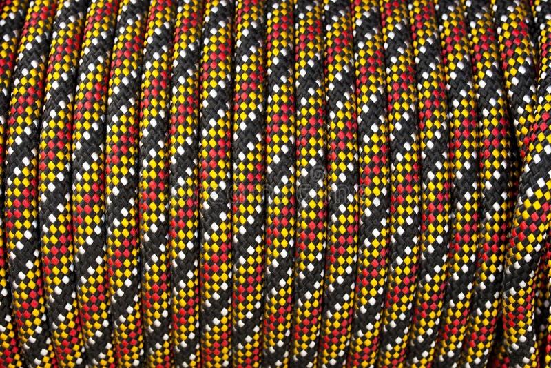 красочная катушка текстуры предпосылки веревочки стоковые изображения rf