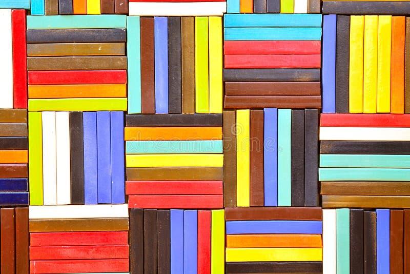 Красочная керамическая плитка делает по образцу предпосылку стоковые изображения