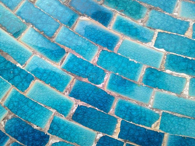 Красочная керамическая плитка делает по образцу предпосылку стоковое изображение