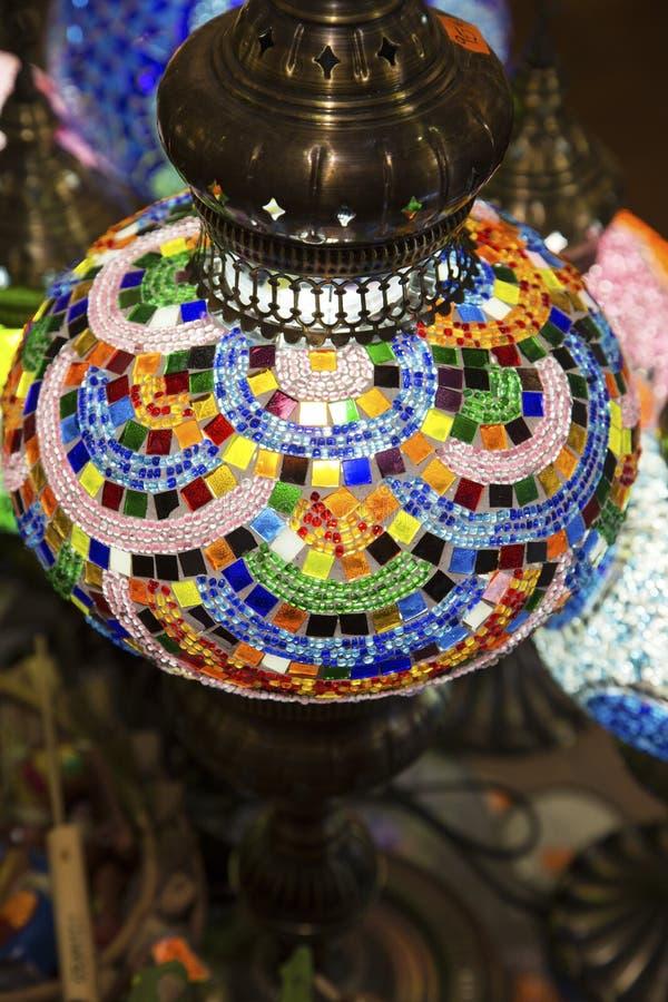 Красочная лампа стоковые фото