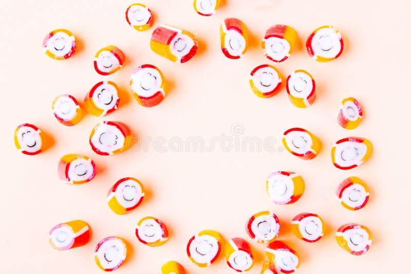 Красочная небольшая конфета стоковые фото