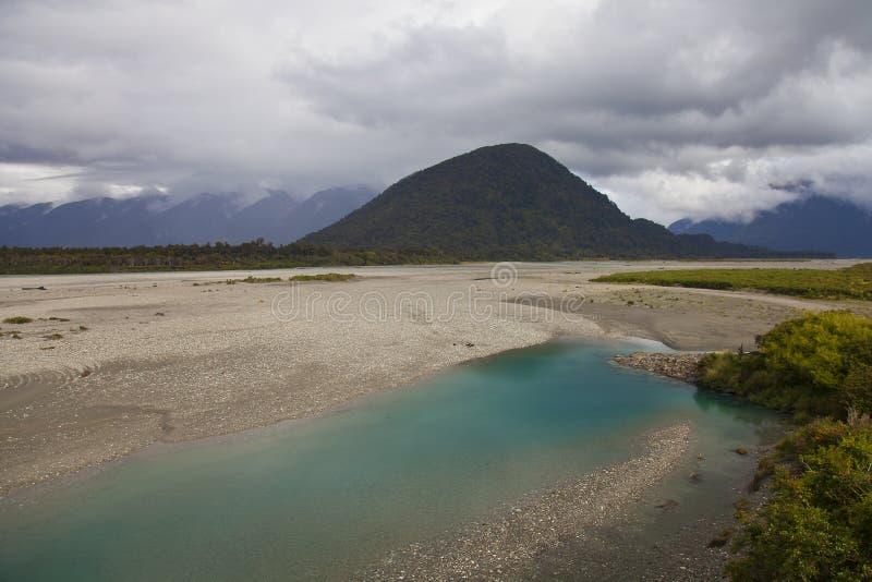 Красочная Новая Зеландия стоковое изображение rf