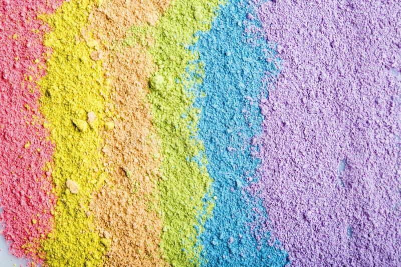 Красочная пастельная текстура стоковые фото