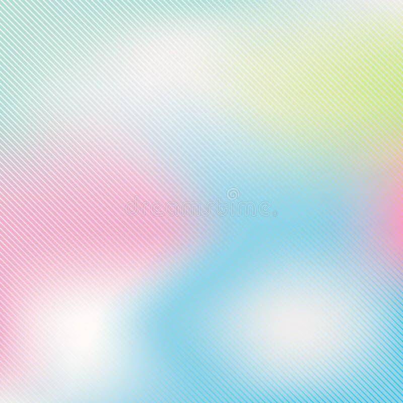Красочная пастель запачкала предпосылку вектора для веб-дизайна печати иллюстрация штока