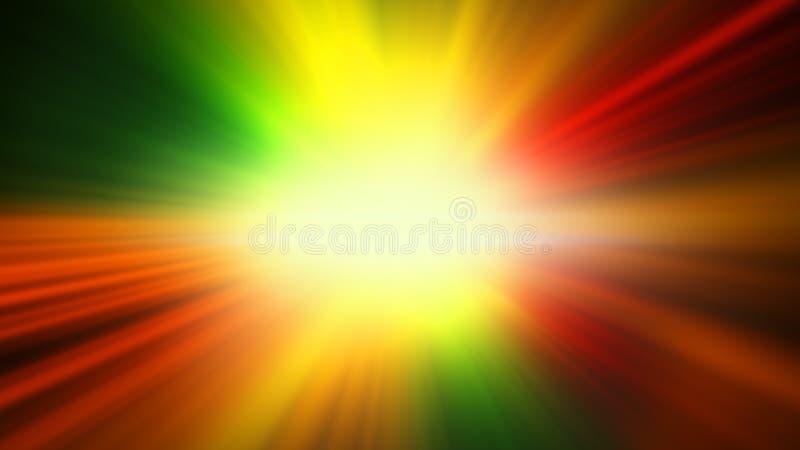 Красочная предпосылка света блеска иллюстрация вектора