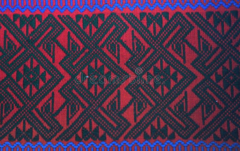 Красочная предпосылка ткани ткани батика стоковое изображение rf