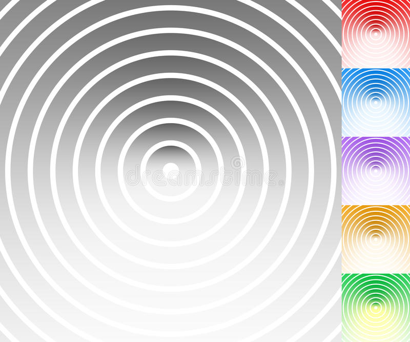Download Красочная предпосылка установила с кругом, овальными формами Иллюстрация вектора - иллюстрации насчитывающей градиент, злой: 81812923