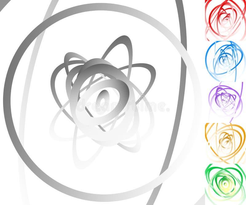 Download Красочная предпосылка установила с кругом, овальными формами Иллюстрация вектора - иллюстрации насчитывающей влияние, образование: 81813081