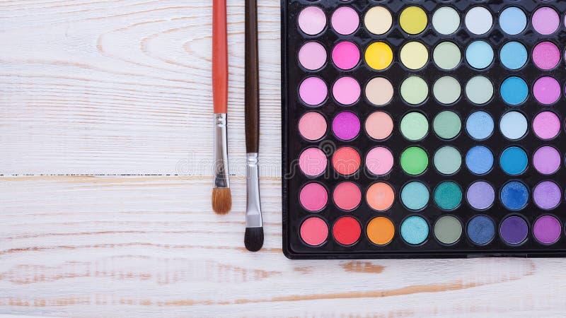 Красочная рамка с различными продуктами состава стоковые фото