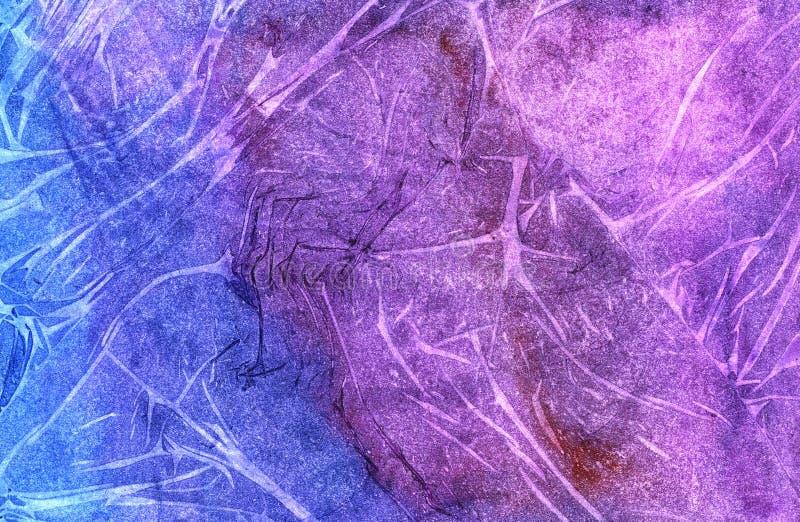 Красочная сморщенная бумажная текстура бесплатная иллюстрация