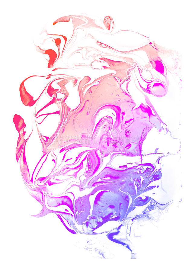 Красочная текстура мрамора градиента стоковое изображение rf