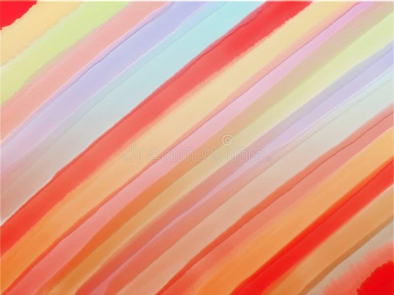 Красочная текстурированная striped предпосылка, линии радуги раскосные иллюстрация вектора