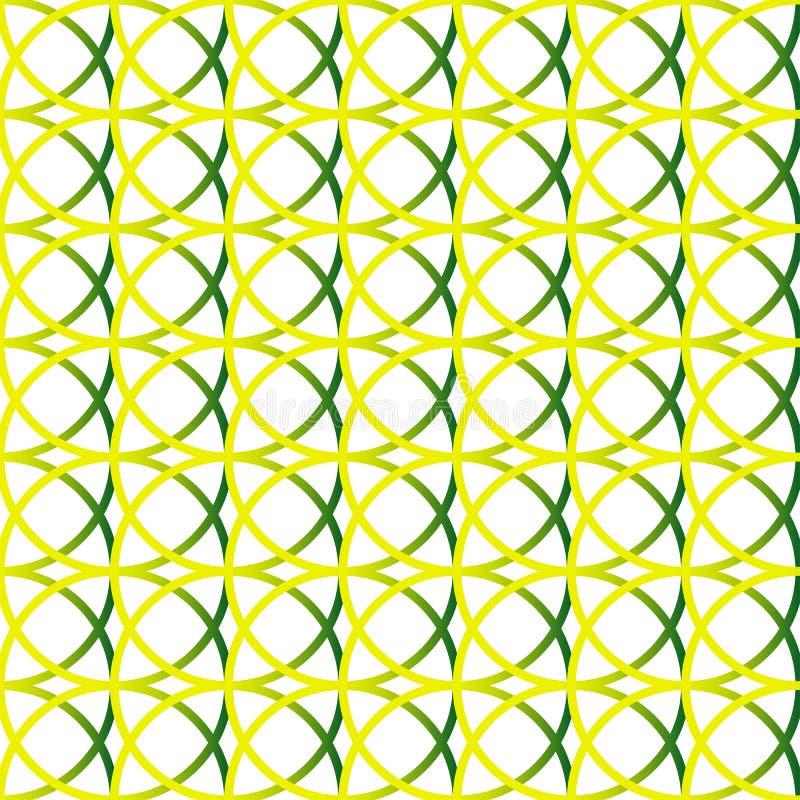 Download Красочная Repeatable предпосылка с пересекая кругами Seamle Иллюстрация вектора - иллюстрации насчитывающей перекрывать, monochrome: 81813640