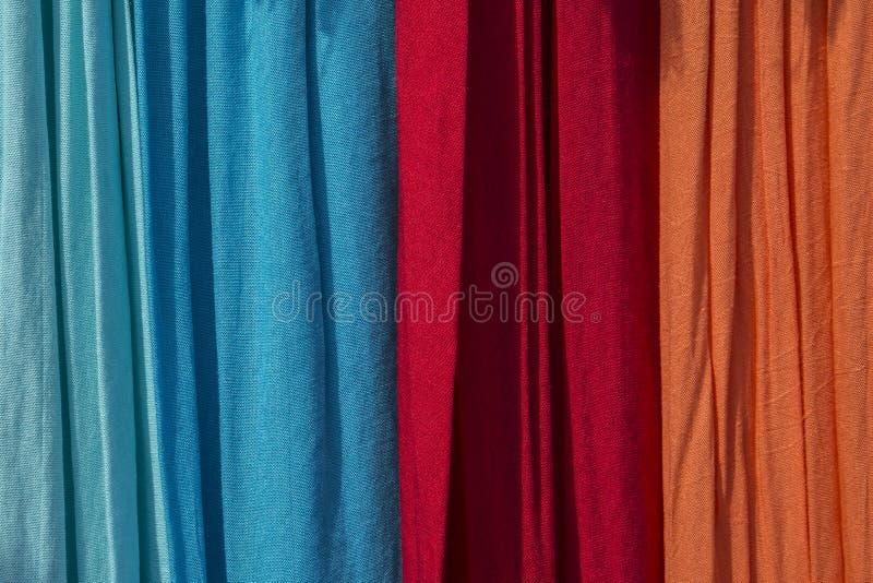 Красочное белье в внешнем свете стоковое фото