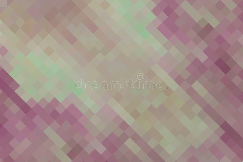 Красочное винтажное геометрическое полезное для предпосылки стоковое фото
