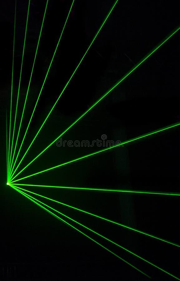 Красочное влияние лазера стоковые фотографии rf