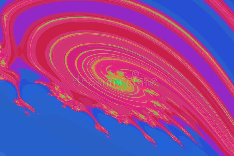 Красочное нефтяное пятно стоковая фотография
