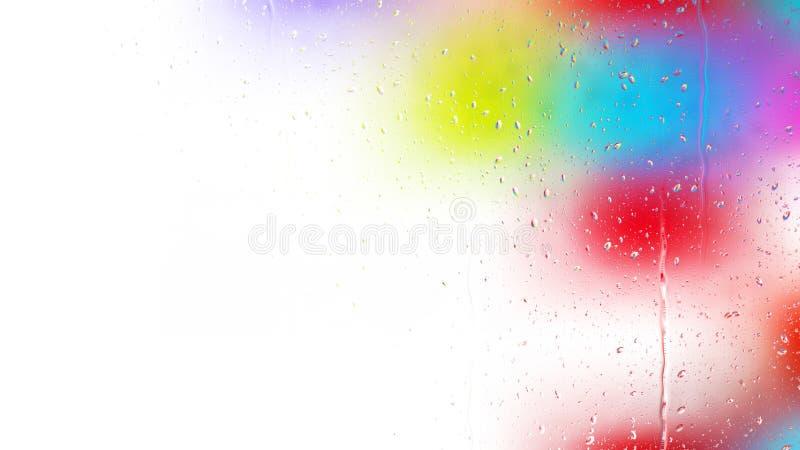 Красочное фоновое изображение падения воды бесплатная иллюстрация