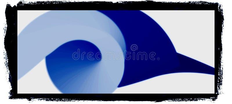 Красочное 3d и волнистый компьютер дизайна произвели изображение иллюстрации иллюстрация вектора
