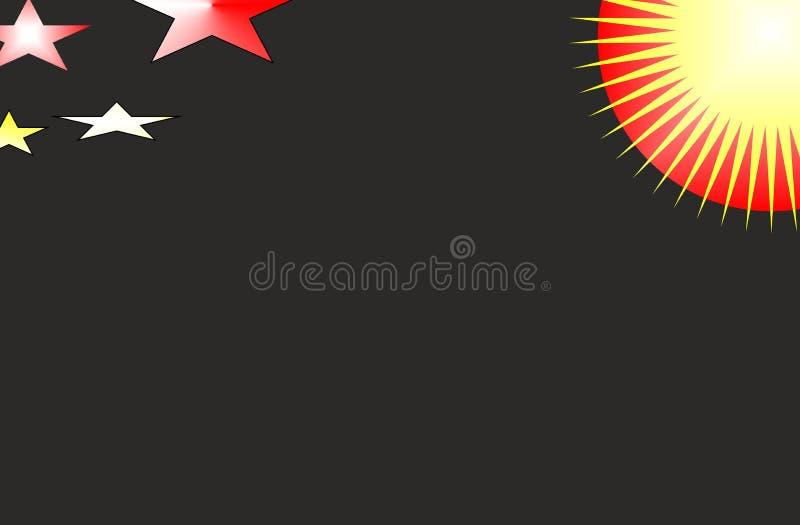 Красочные абстрактные вектор и иллюстрация иллюстрация штока