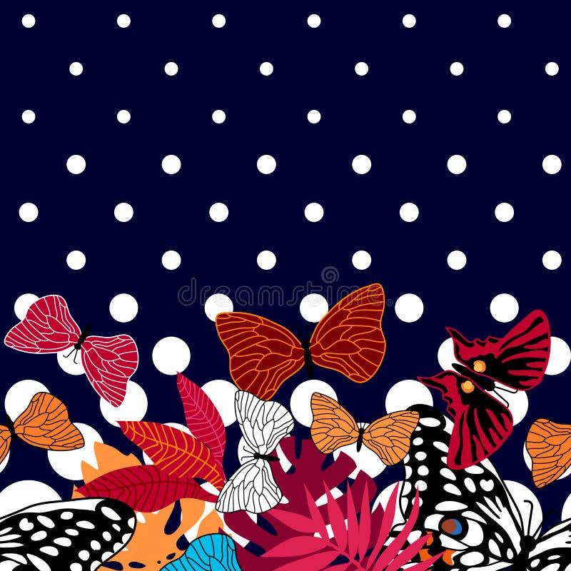 Красочные бабочки лета бесплатная иллюстрация