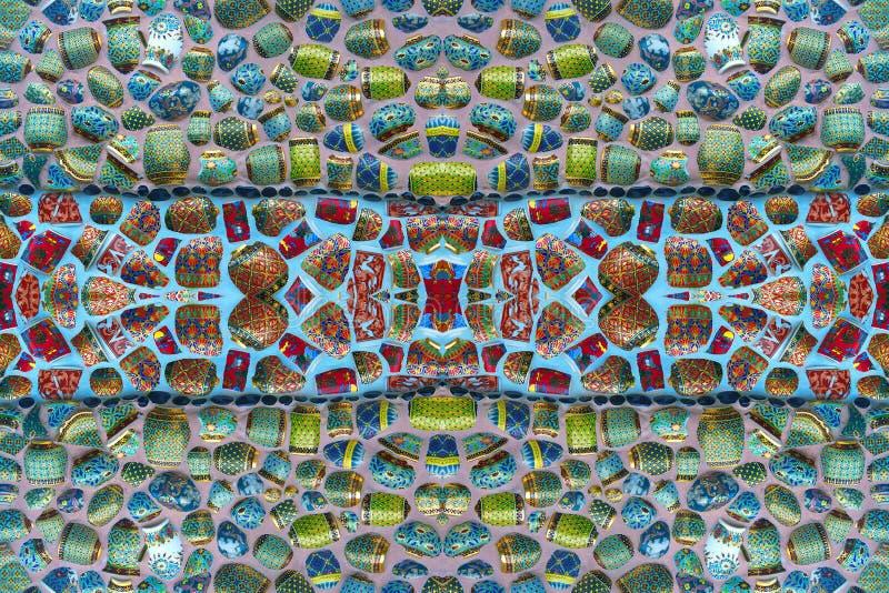 Красочные картины мозаик стоковое изображение