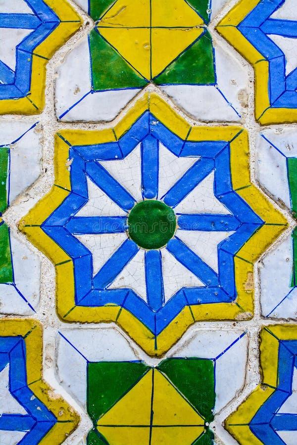 Красочные картины плиток стоковые изображения rf