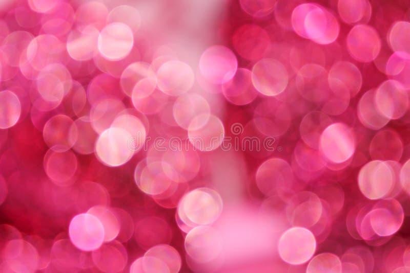 Красочные картины bokeh белизны или пинка абстрактные на предпосылке стоковое изображение rf