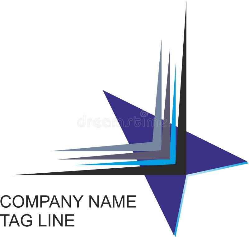 Красочные логотип, вектор и иллюстрация стрелки, бесплатная иллюстрация