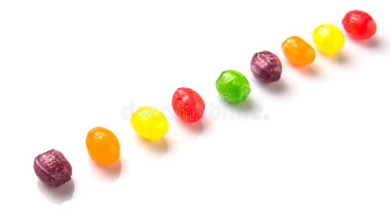 Красочные помадки II стоковая фотография rf