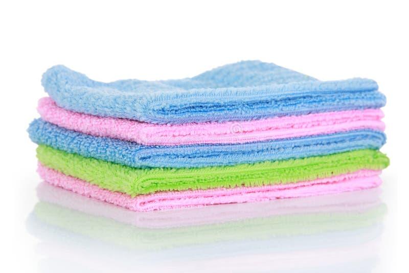 Download Красочные полотенца чистки Microfiber Стоковое Фото - изображение насчитывающей польза, никто: 37928680