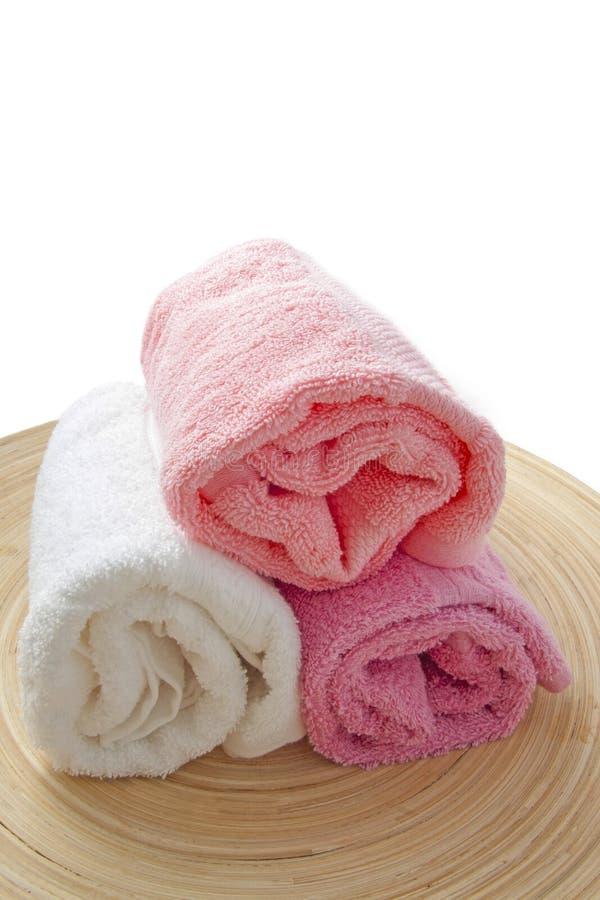 Красочные полотенца стоковое фото rf