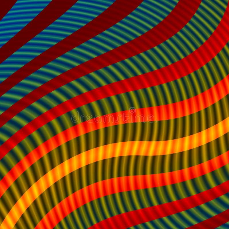 Красочные цвета радуги предпосылки - живые иллюстрация вектора