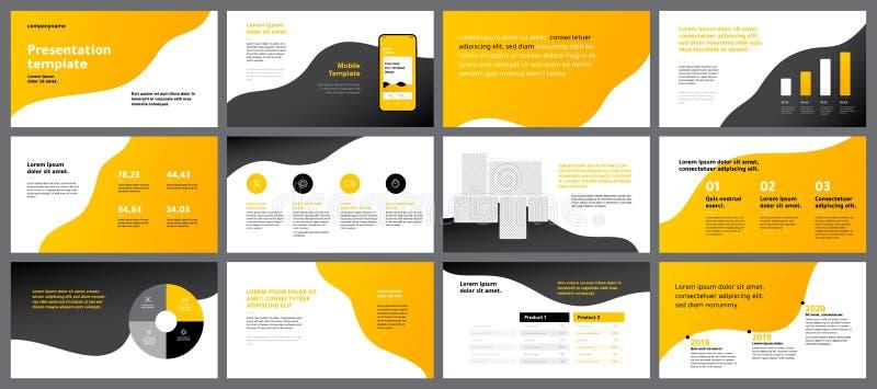 Красочные элементы шаблонов представления Infographics вектора 10 eps бесплатная иллюстрация
